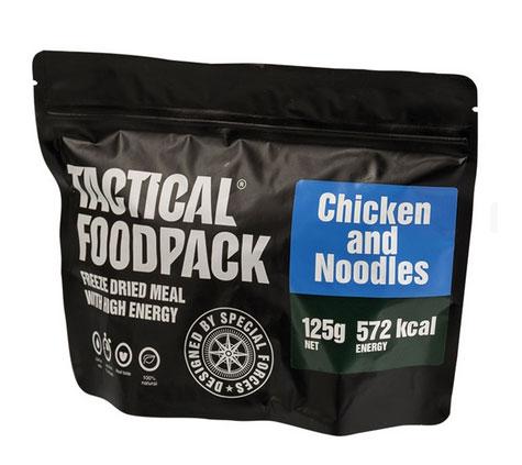 Rations Nouilles au poulet en ration lyophilisée