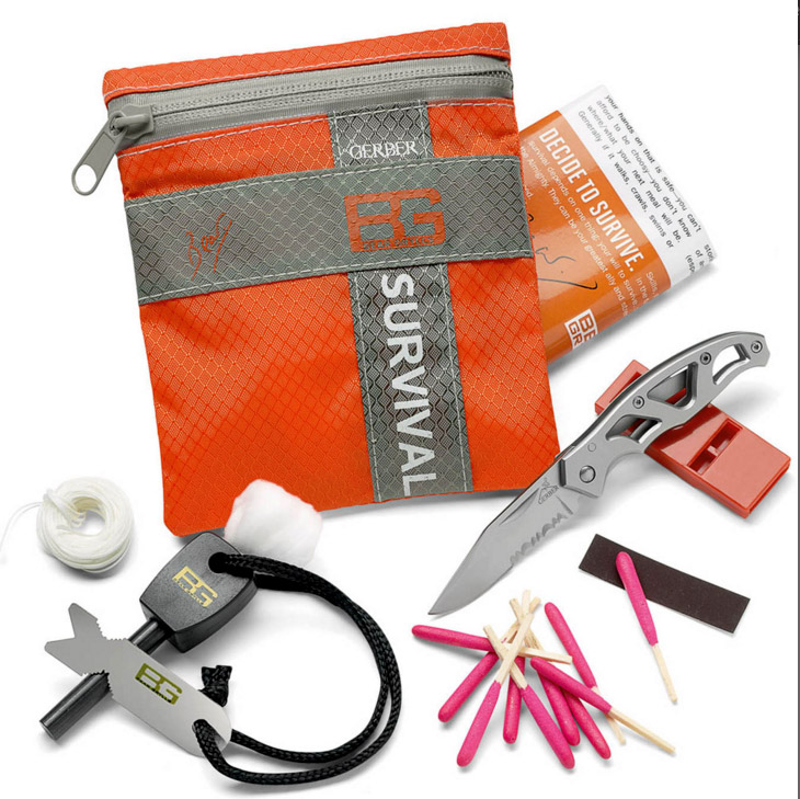 KIT DE SURVIE BASIC KIT BEAR GRYLLS