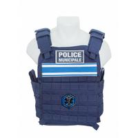 PORTE PLAQUES AVANCE POLICE MUNICIPALE