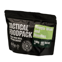 RATIONS TACTICAL FOODPACK WOK VEGETARIEN ET PATES