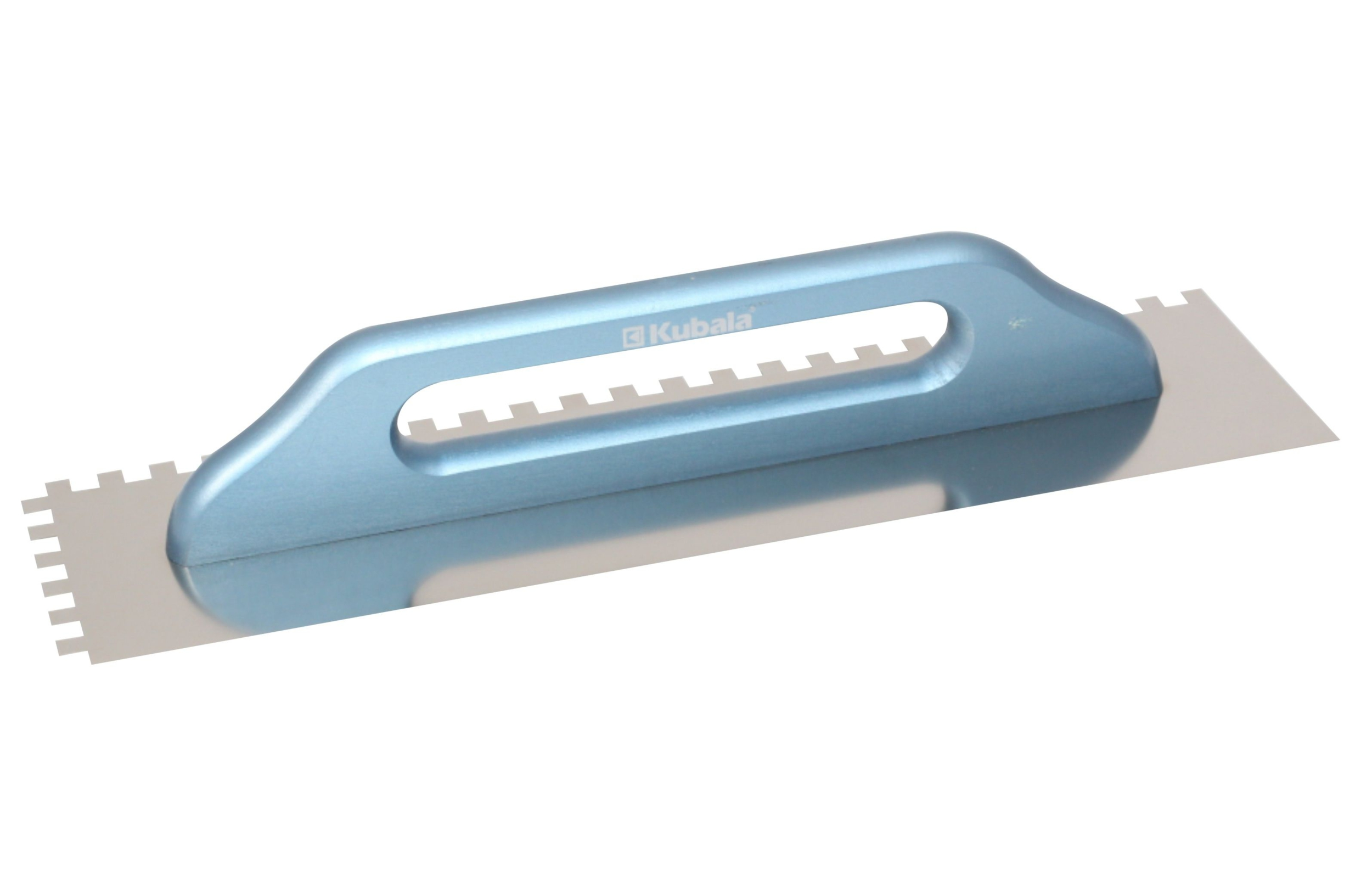 Platoir inox longue, denture carrée