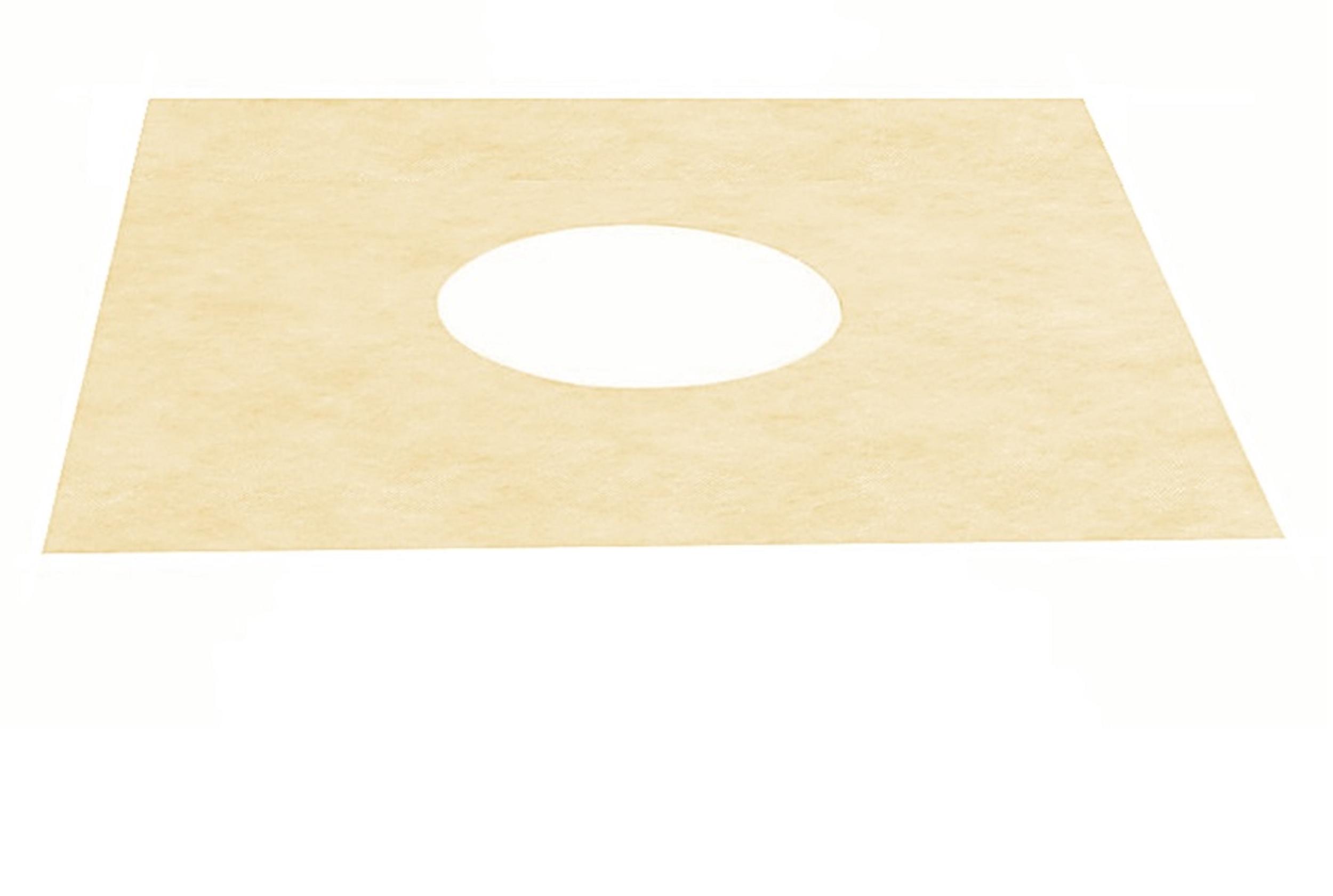 Membrane d'étanchéité pour le siphon-bonde 100 x 100 mm Eco Line