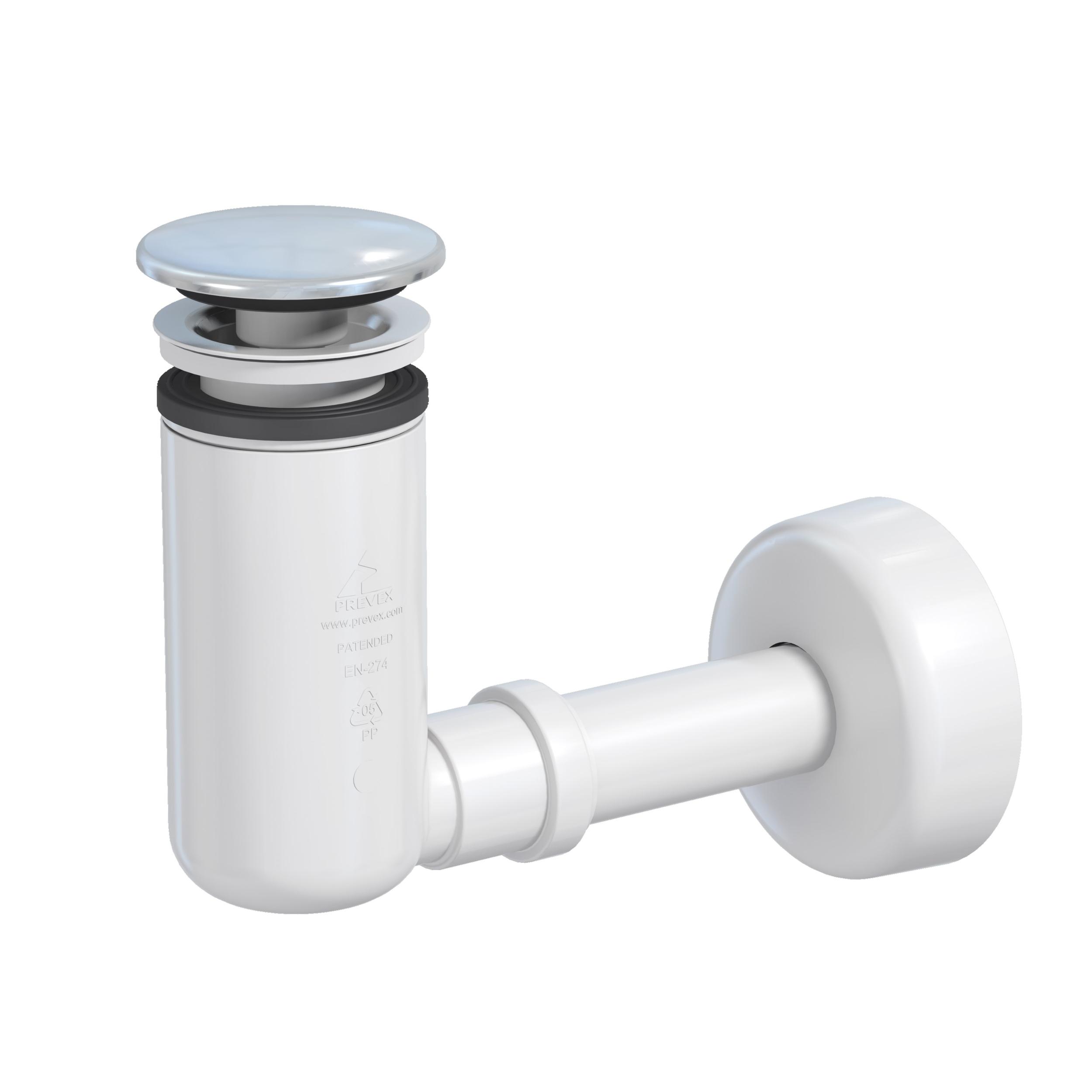 Siphon-bonde lavabo clic-clac Easy Clean