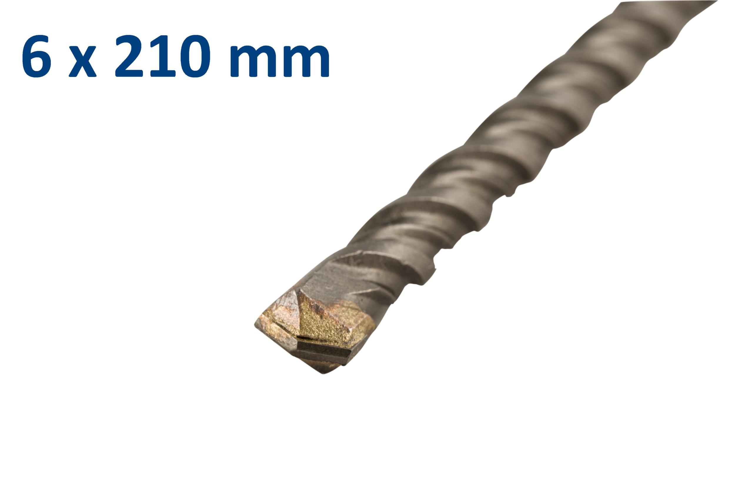 Foret-mèche SDS plus pour béton 6x210mm