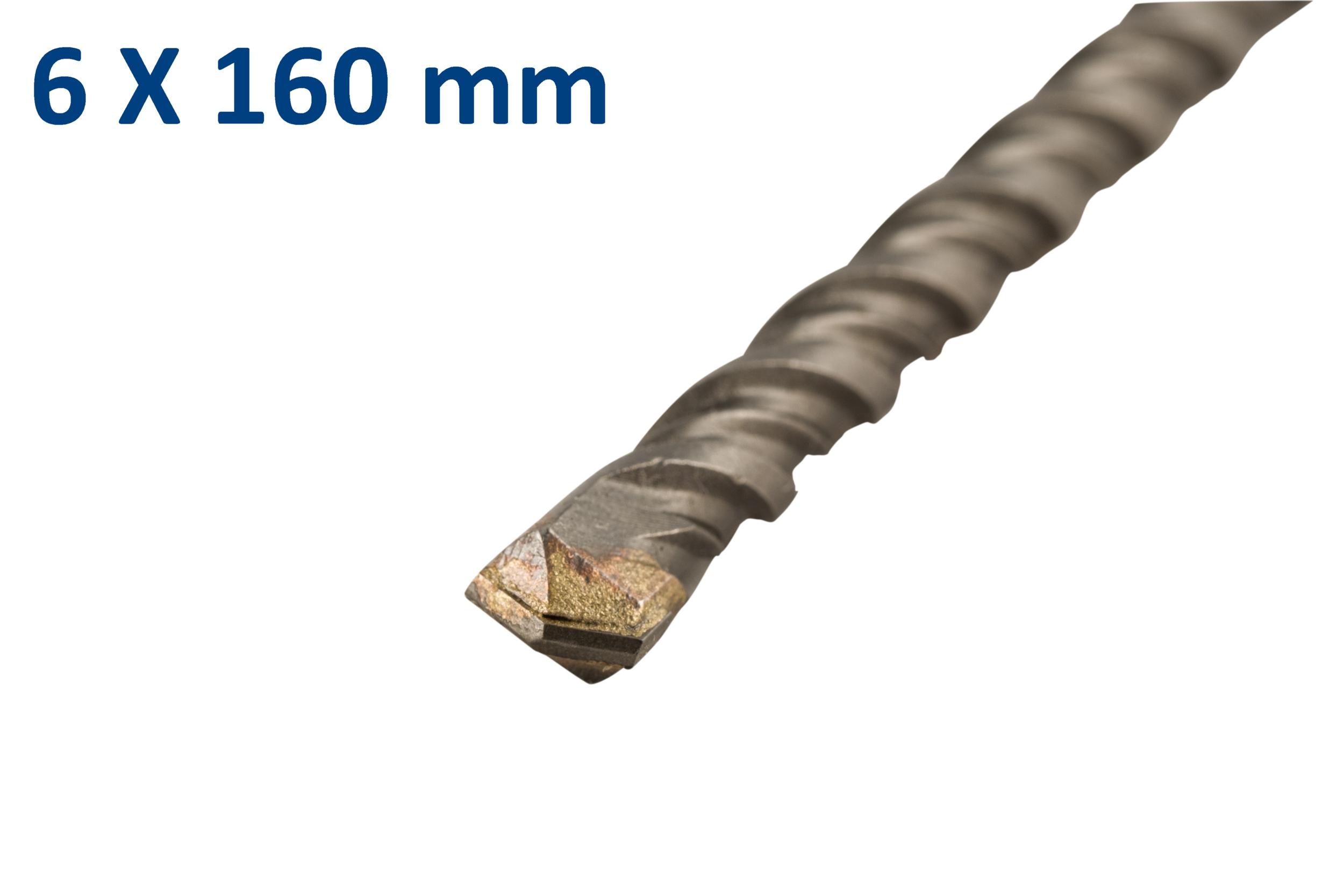 Foret-mèche SDS plus pour béton 6x160mm