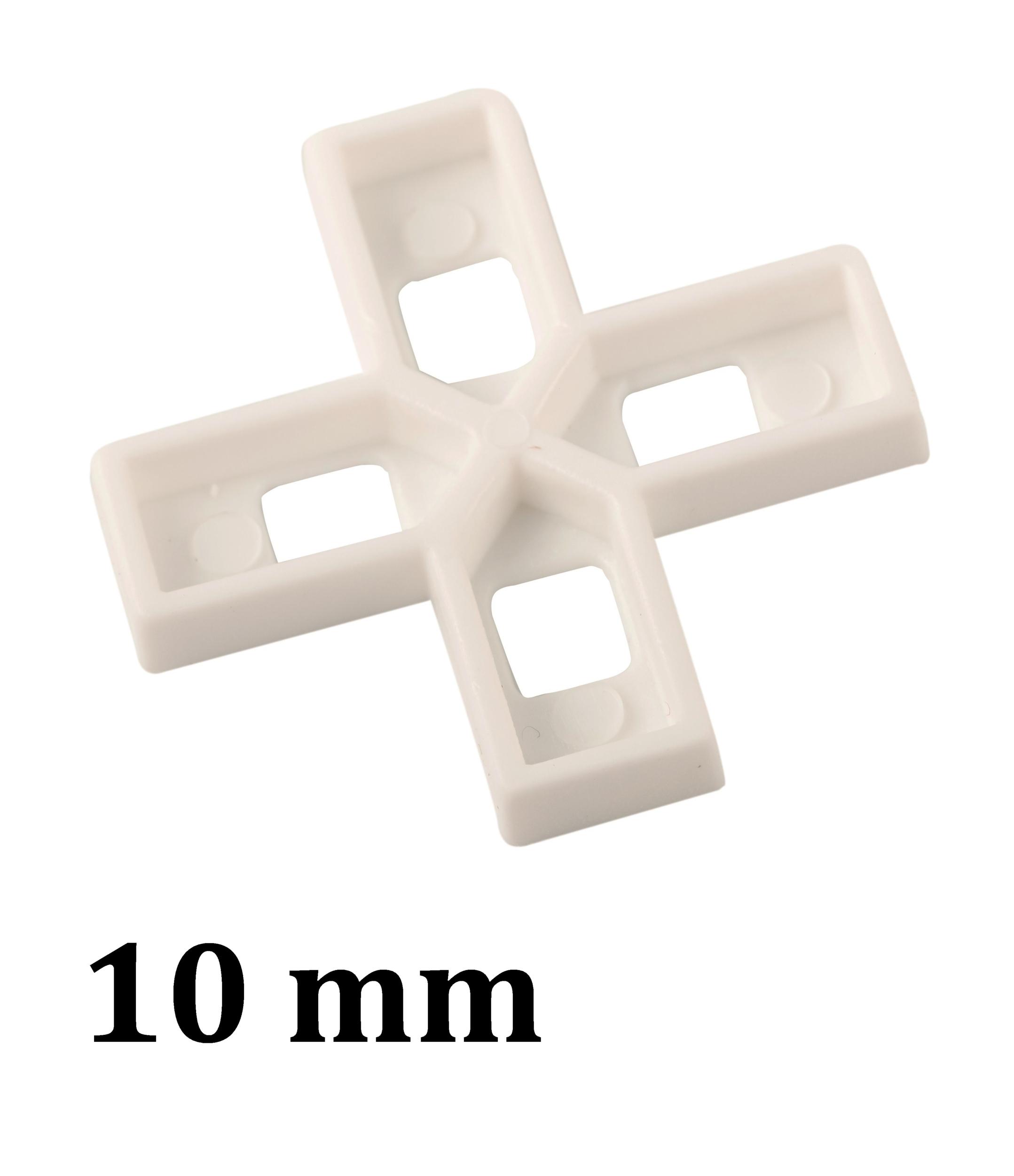 Croisillon carrelage 10 mm, en croix