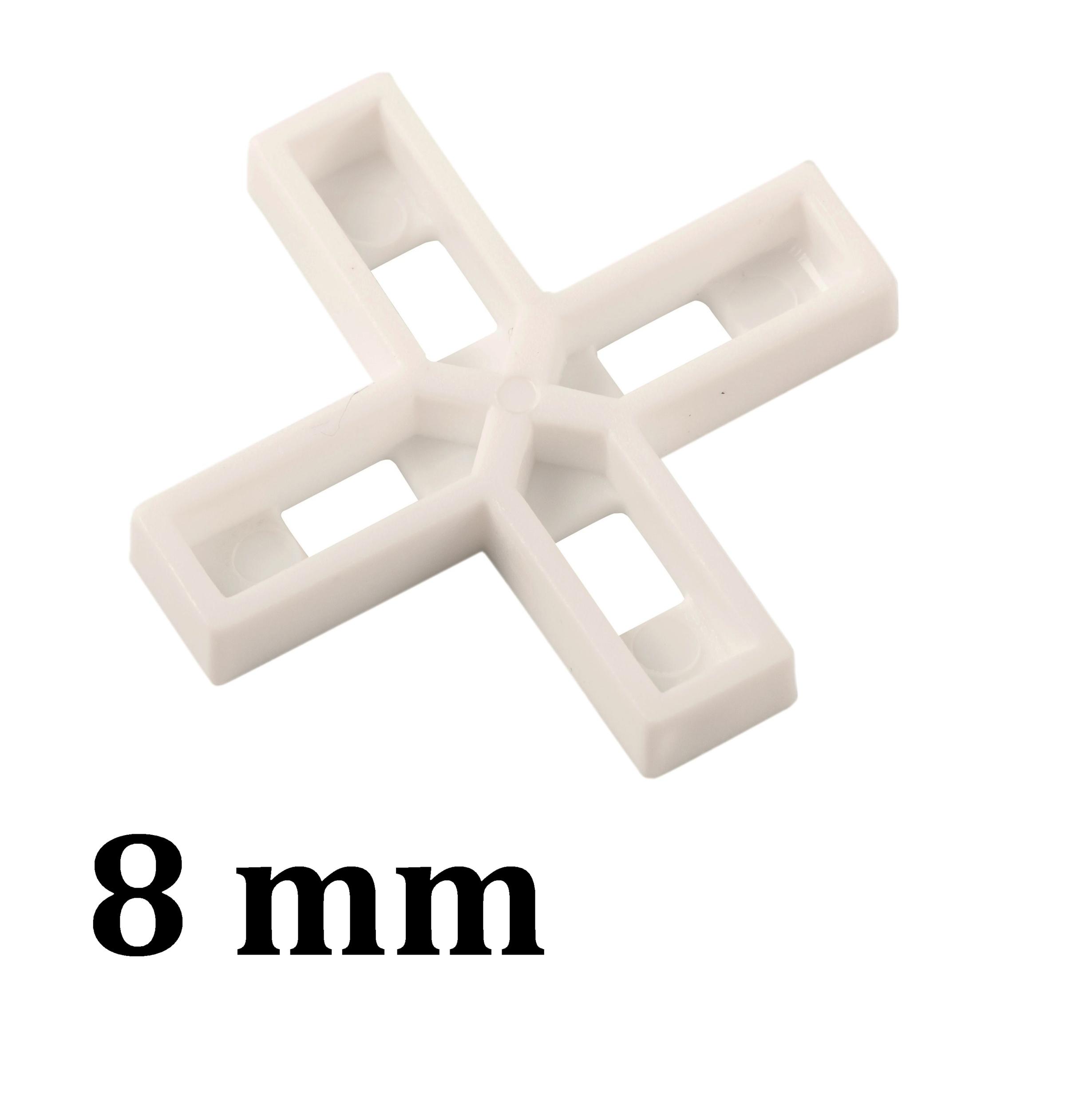 Croisillon carrelage 8 mm, en croix
