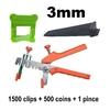 3mm kit 7719 1500-500-1