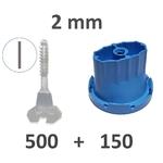 Kit 2mm avec nouveau sabots 500_150