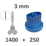 Kit 3mm avec nouveau sabots 1400_250