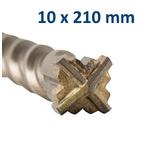 K2204-610210 foret croix 10x210mm 2