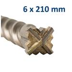 K2204-606210 foret croix 6x210mm 2