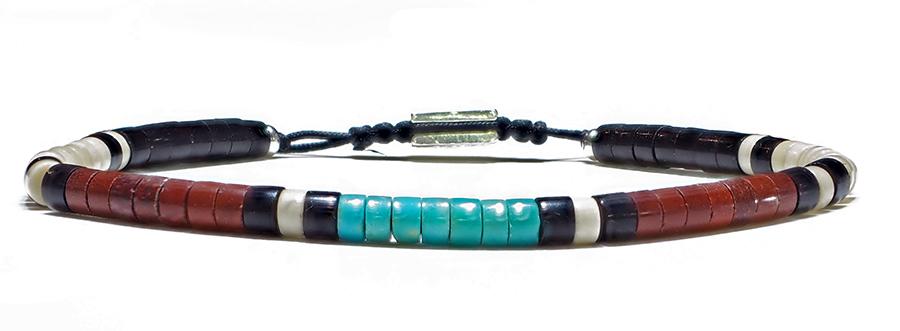 Bracelet-homme-turquoise-pipestone-4mm
