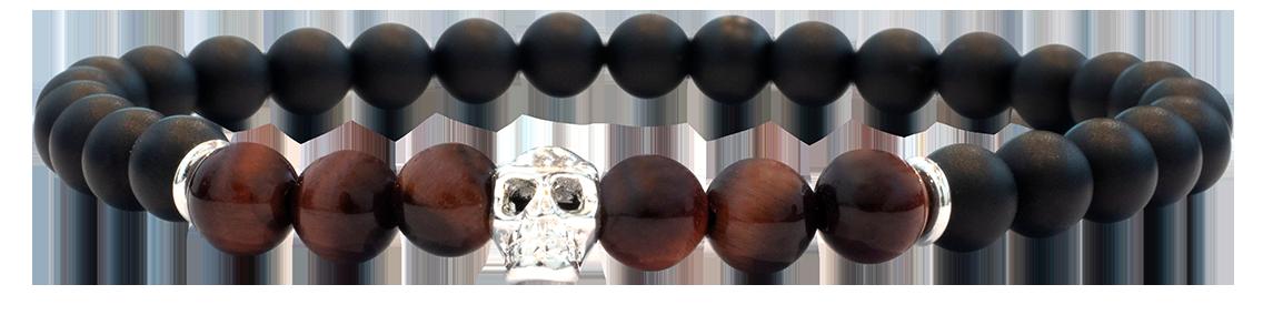 Skull Oeil de Taureau 6mm