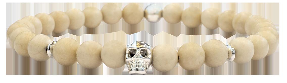 Skull Pierre de Rivière 6mm