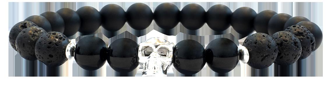 Skull Black 8mm