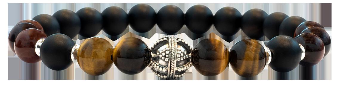 Ball Oeil de tigre et taureau 8mm