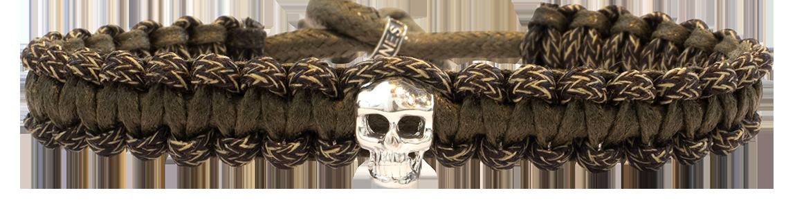 Skull Macramé Havane