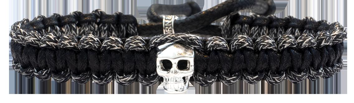 Skull Macramé Black