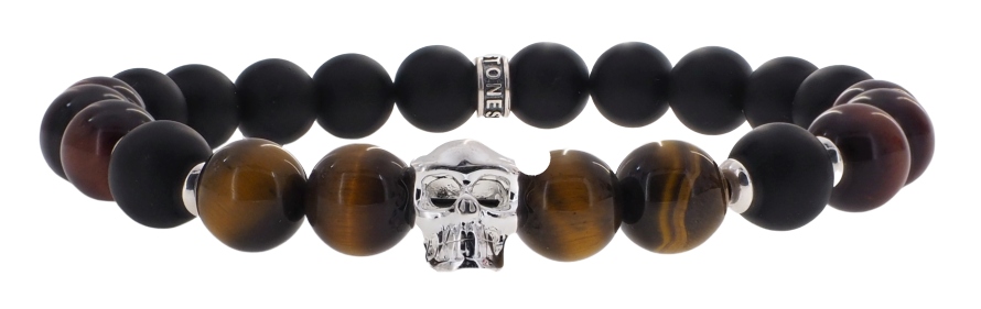 Skull Tigre et Taureau 8mm