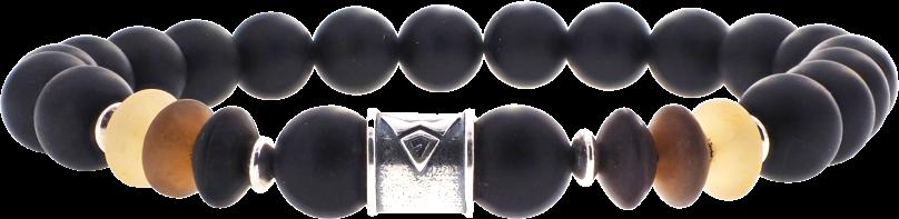 Grey Horn Ball 8 mm