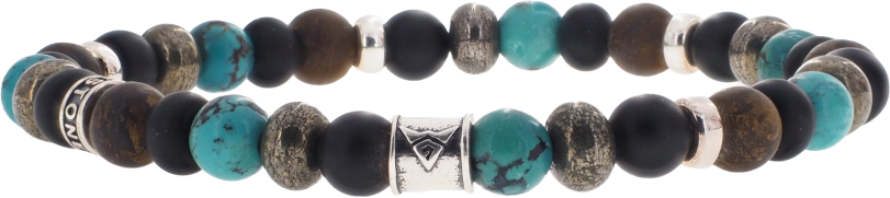 Mix Turquoise 6mm