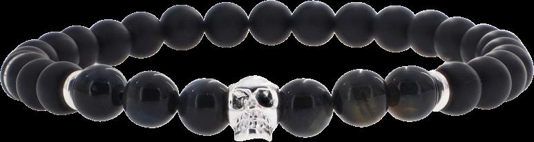 Skull Oeil de Faucon 6mm
