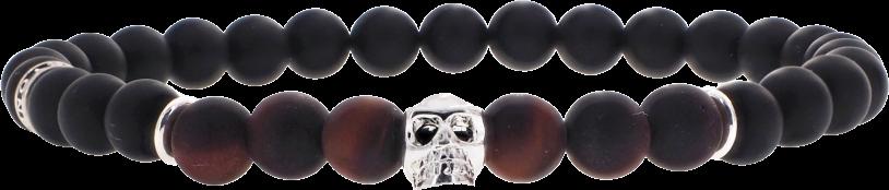 Skull Oeil de Taureau Mat 6mm