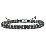 Bracelet-Homme-Perles-Bronzite-Onyx