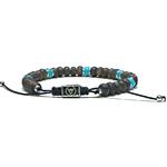 Bracelet-Homme-Perles-Bronzite-Turquoise-Kingman