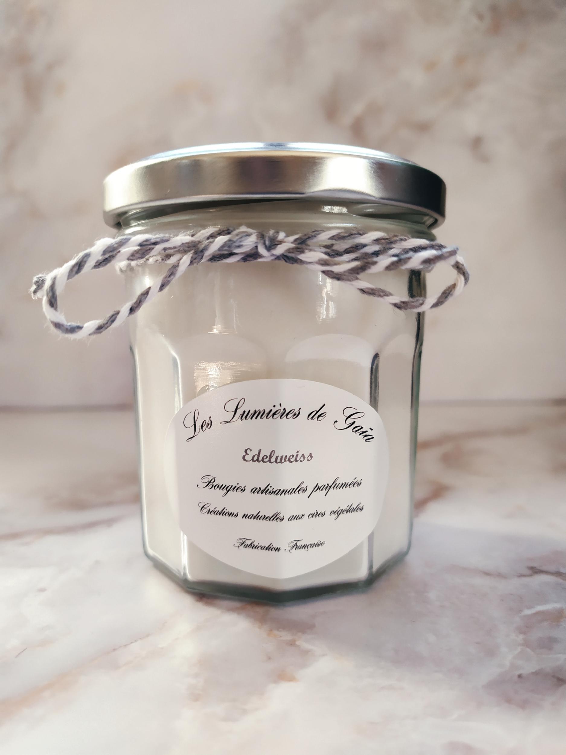 Bougie parfumée Edelweiss petite