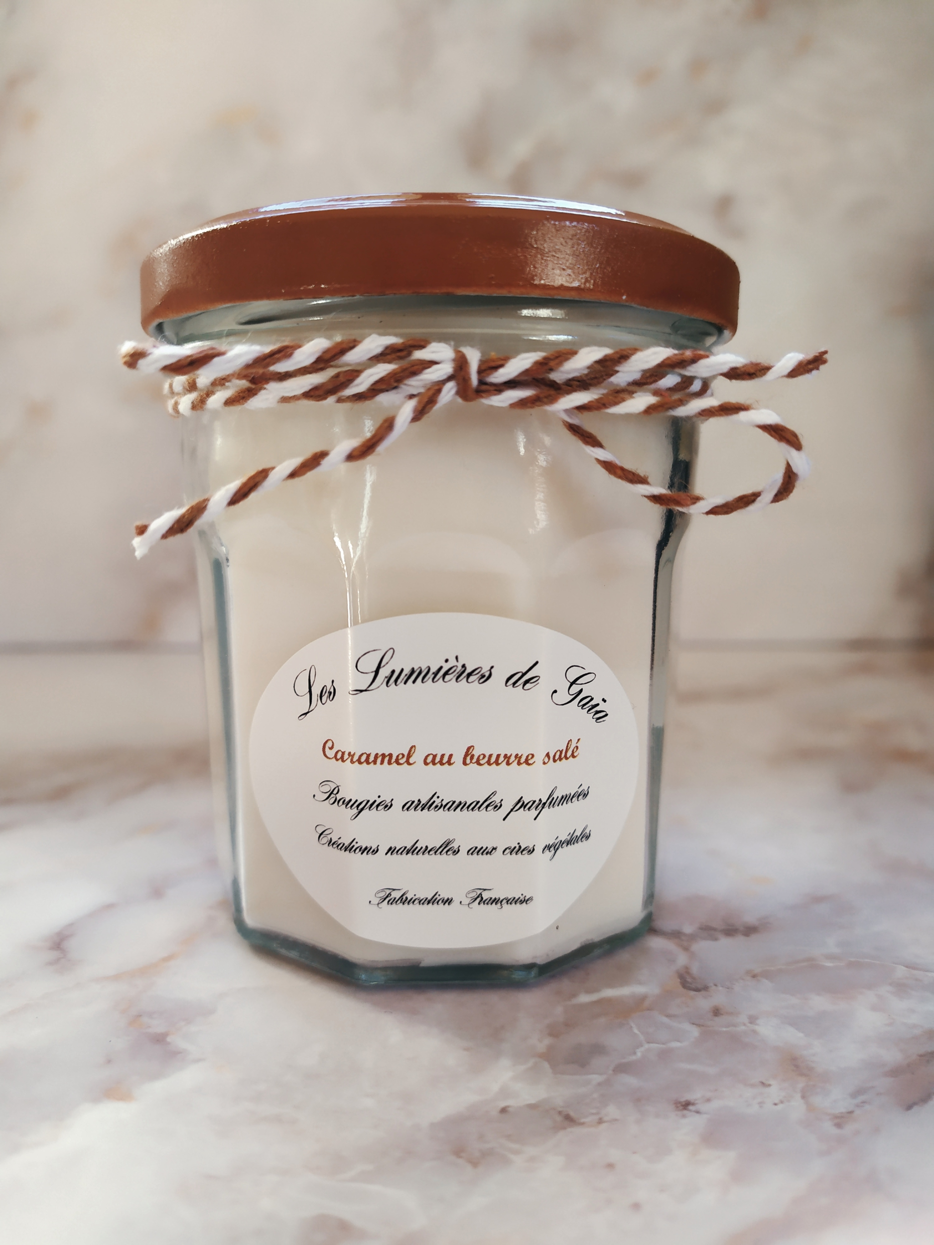 Bougie parfumées Caramel au Beurre salé petite