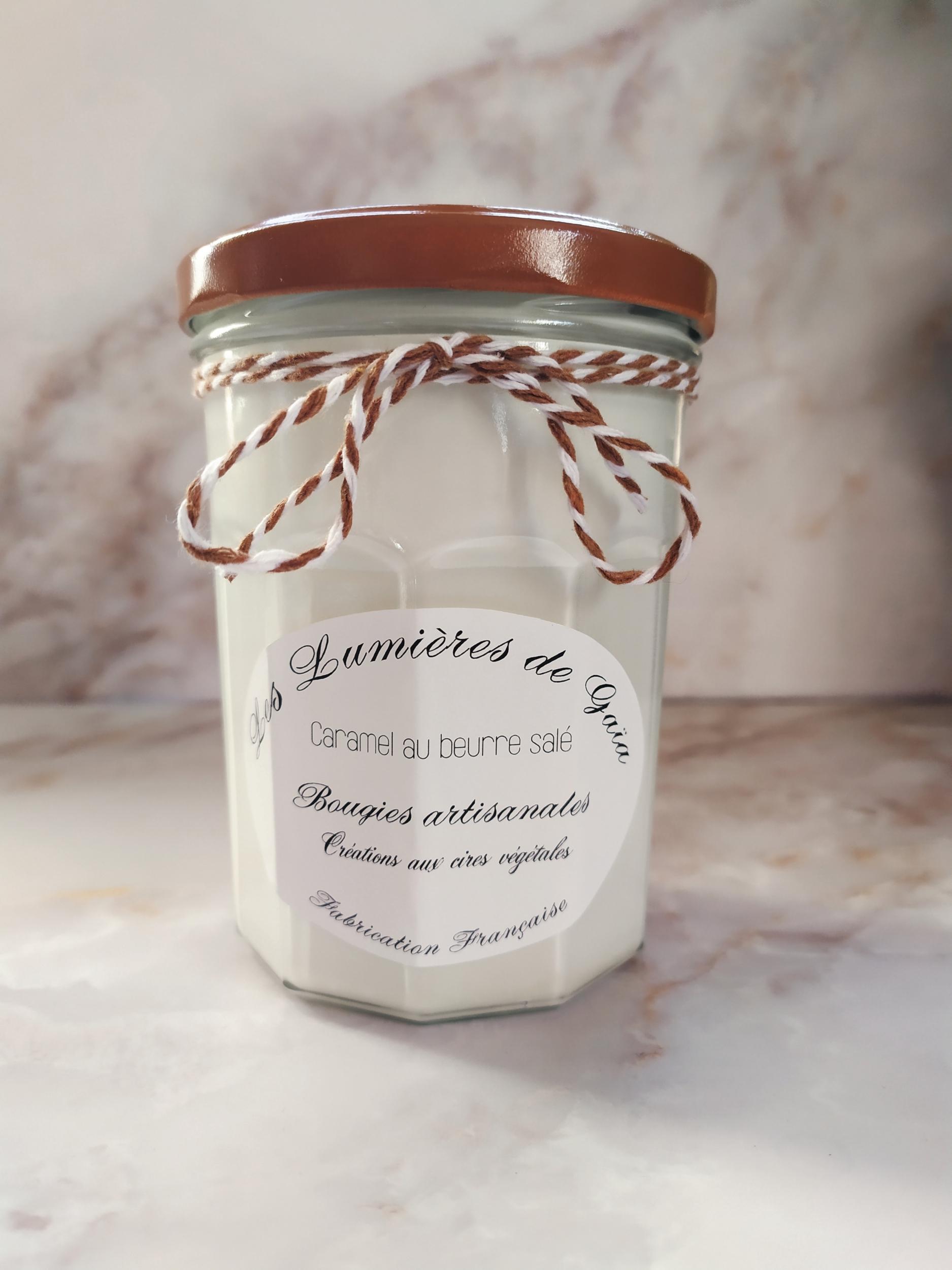 Bougie parfumée Caramel au Beurre salé grande