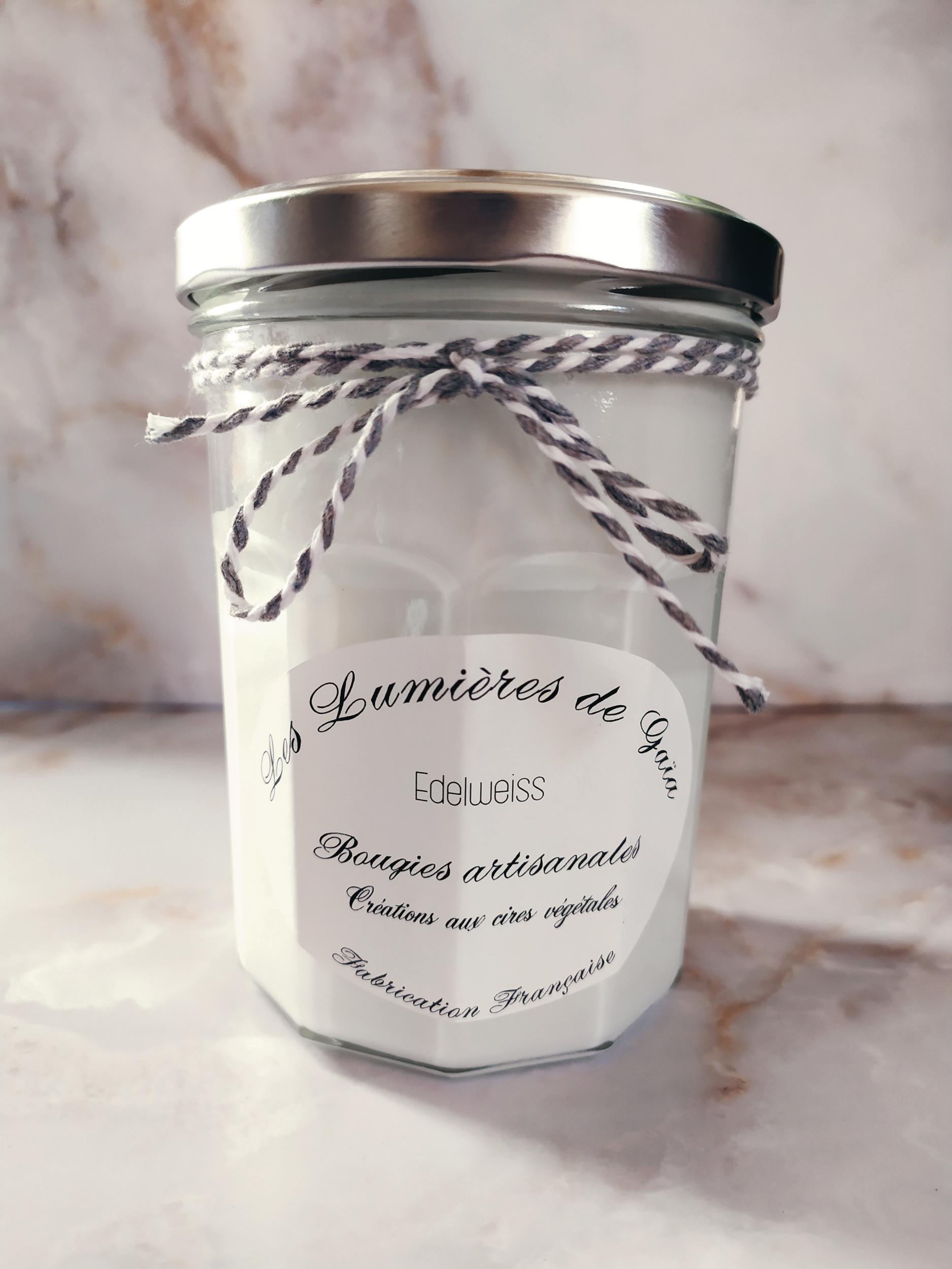 Bougie parfumée Edelweiss grande