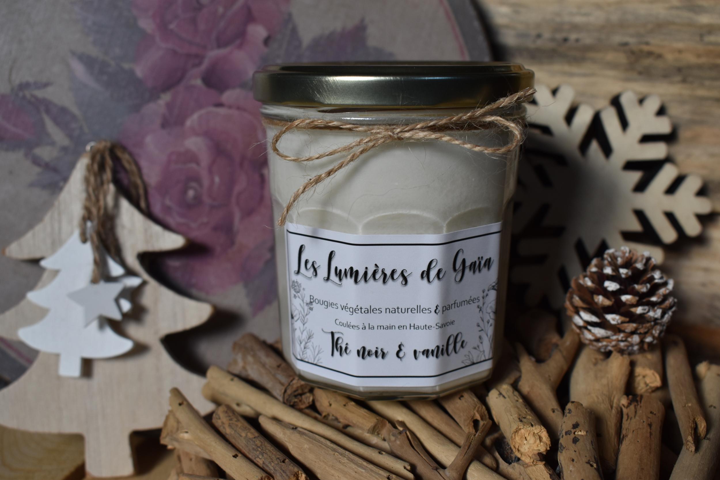 Bougie parfumée Thé noir Vanille