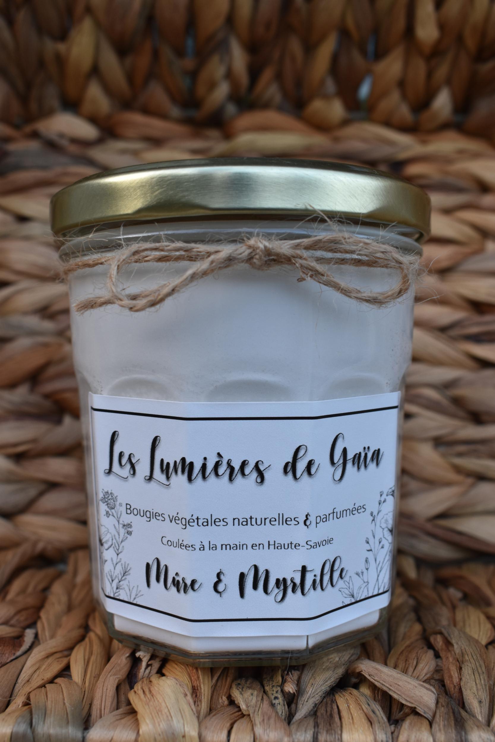 Bougie parfumée Mûre et myrtille