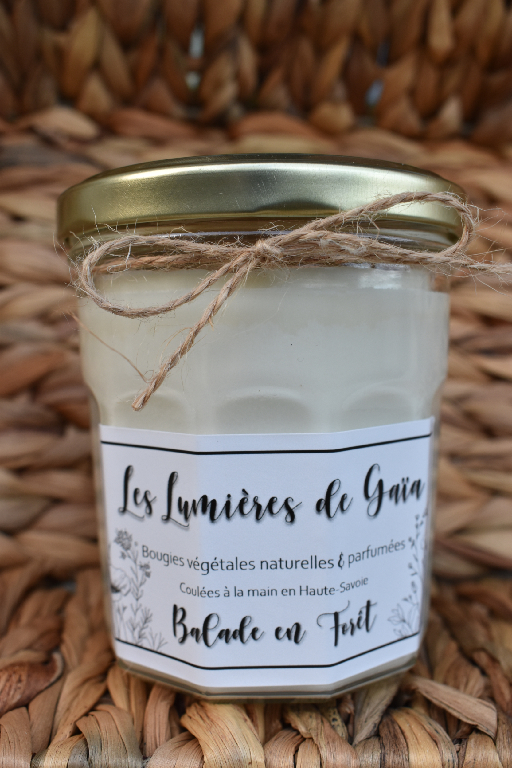 Bougie parfumée Balade en forêt