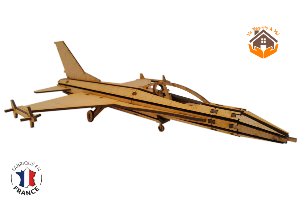 MAQUETTE EN BOIS JET FIGHTER Northrop F-5