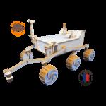 MAQUETTE EN BOIS CURIOSITY PLANETE MARS PULPE DE BOIS FABRICATION FRANCAISE 3