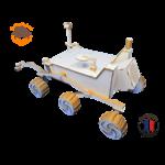 MAQUETTE EN BOIS CURIOSITY PLANETE MARS PULPE DE BOIS FABRICATION FRANCAISE 6