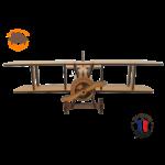 maquette avion biplan FABRICATION ARTISANALE 1