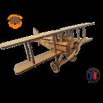 maquette avion biplan FABRICATION ARTISANALE 2