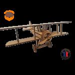 maquette avion biplan FABRICATION ARTISANALE 4