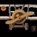 maquette avion biplan FABRICATION ARTISANALE 3
