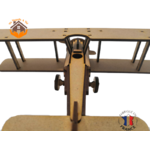 maquette avion biplan FABRICATION ARTISANALE 6