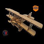 maquette avion biplan FABRICATION ARTISANALE 7