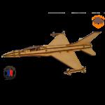 MAQUETTE EN BOIS AVION JET FIGHTER Northrop F-5 FABRICATION ARTISANALE FRANCAISE 2
