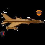 MAQUETTE EN BOIS AVION JET FIGHTER Northrop F-5 FABRICATION ARTISANALE FRANCAISE 3