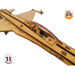 MAQUETTE EN BOIS AVION JET FIGHTER Northrop F-5 FABRICATION ARTISANALE FRANCAISE 5