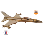 MAQUETTE EN BOIS AVION JET FIGHTER Northrop F-5 FABRICATION ARTISANALE FRANCAISE 10